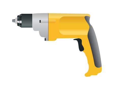 drill bit: Yellow drill without bit