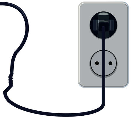 plug in: Plug in the socket with the bulb wire vvide