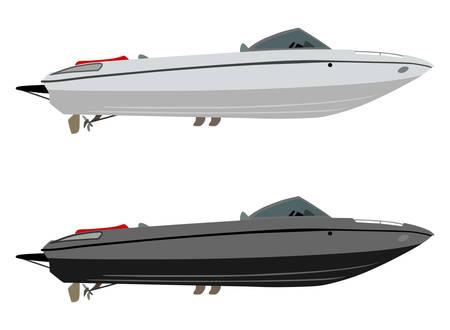 Impostare le imbarcazioni da diporto di diversi colori