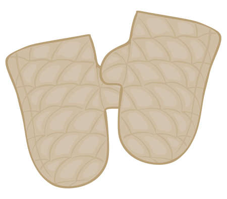 tack: Two beige tack on a white background
