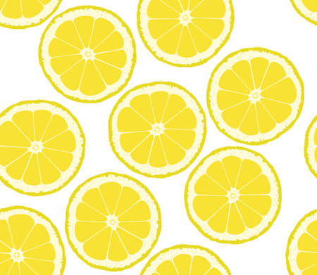 tropical drink: Background from the cut lemons