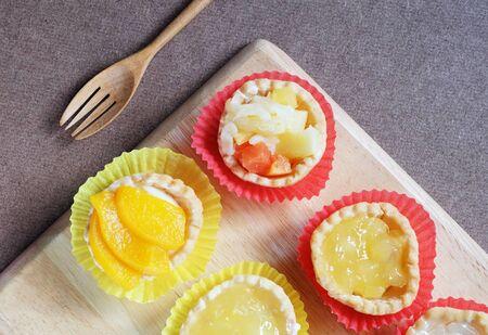 tarts: Fruit tarts