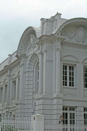 neo gothic: shot of a building facade