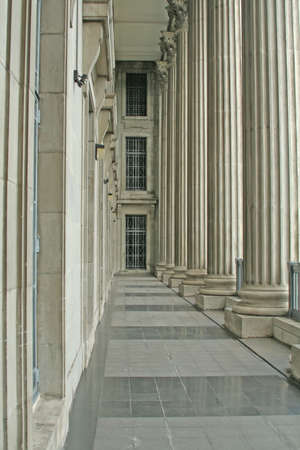 columns in a row photo