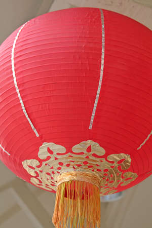 lanterns normally displayed during lunar new year celebrations photo
