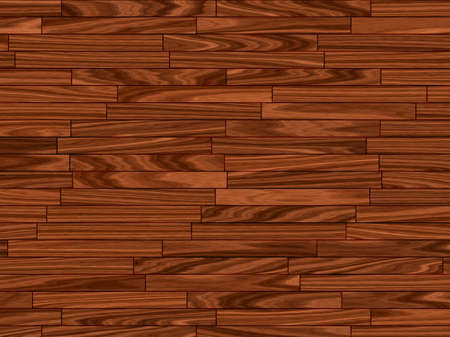 close up of warm brown parquet flooring pattern photo