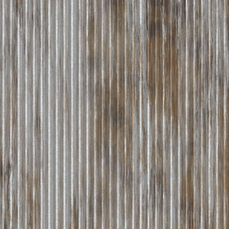 rusty looking zinc wall that can be seamlessly tiled Stock Photo - 3407961