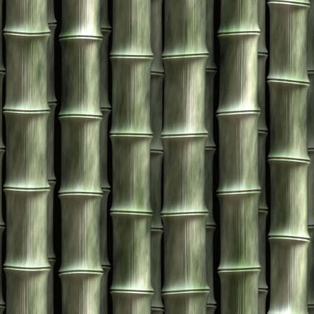 eastern spirituality: illustration of close up of bamboo sections