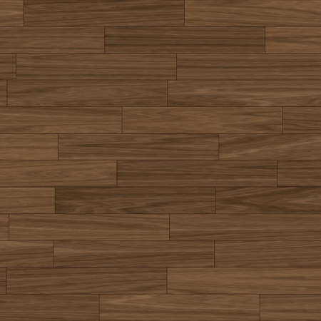 teak wood: close up view of a dark brown parquet flooring (seamless tiling) Stock Photo