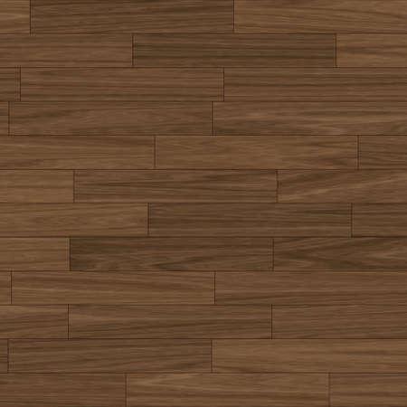 holzboden: Nahaufnahme von einer dunklen Braun Parkettboden (nahtlose Fliesen)
