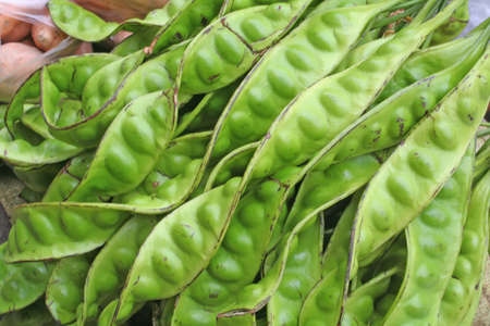 fare: stink beans which are tranditional fare in asia