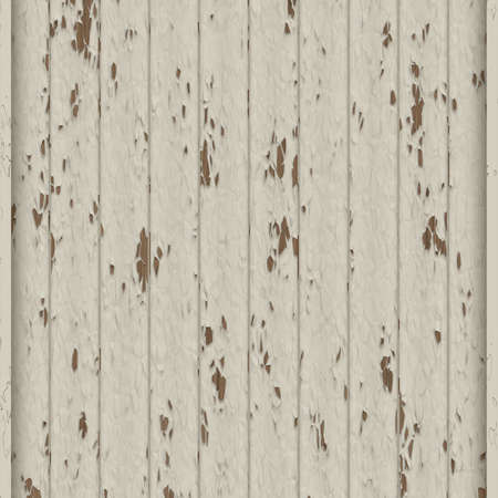 peeling: illustration of paint peeling over wooden panels