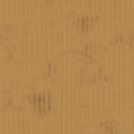 millboard: texture of cardboard with verticle lines and stains (seamless tiling) Stock Photo