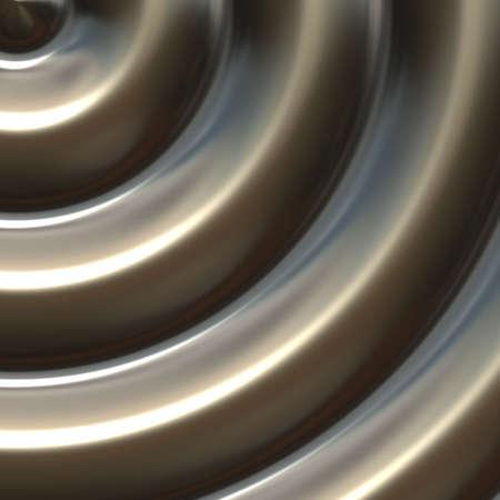 metal sculpture: bronzo scultura metallica in forma circolare per uso come sfondo arte