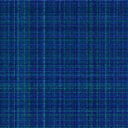 tweed: electric blue tweed material texture illustration