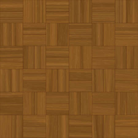illustration of square pattern parquet  flooring Stock Illustration - 3871321