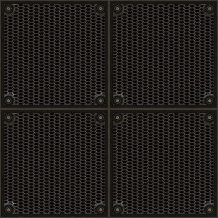 smith: bronze iron grill pattern - seamless tilling