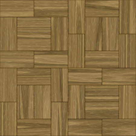 illustration of parquet patter (seamless tiling) Stock Illustration - 5032288