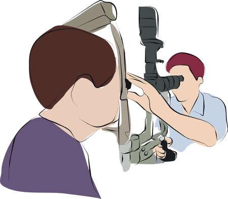 백내장: 안과 의사 또는 눈