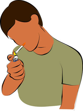 bad breath: get a light for smoking