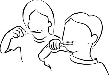 fluoride toothpaste: Brushing Teeth