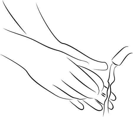 washing hands for protect desease