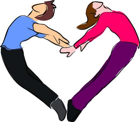body heart: Heart shape and love