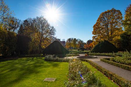 A Park in autumn in Poland Stock fotó