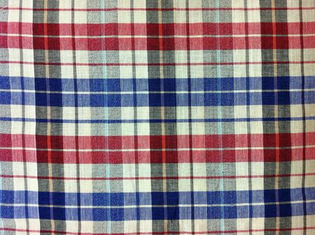 Abstract plaid fabric texture pattern  Stock Photo
