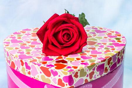 Heart shaped box  Valentines Day photo