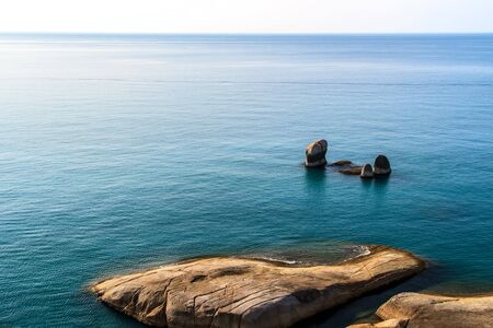 con dao: sea and stones tropical a beautiful