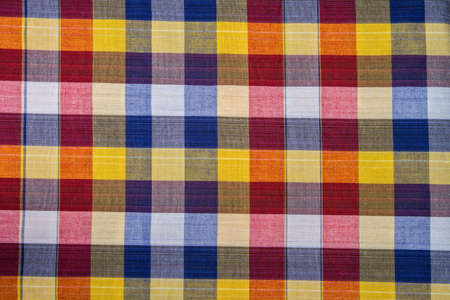 fabric plaid Cotton abstract background photo