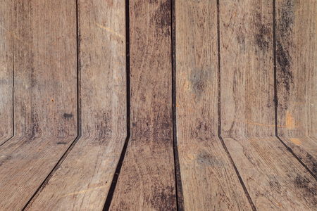duckboards: Old wood vintage texture and background