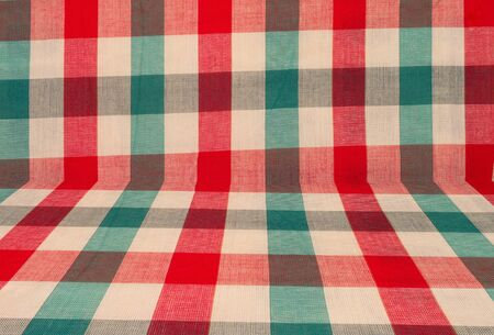 batik pattern: fabric plaid vintage pattern and background Stock Photo