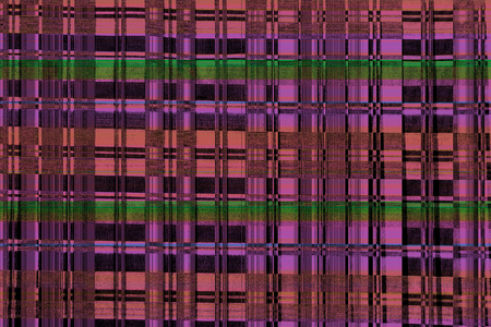 Glitch background. Striped glitch texture. colors abstract digital glitch graphic design damaged data file background. Computer screen error.Television signal fail Technical problem grunge wallpaper Stock Photo