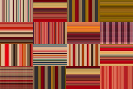 Colorful fabric loincloth with stripe color abstract background pattern texture
