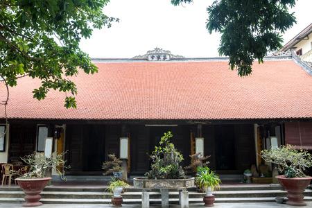Pagoda of Pho Chieu Temple in Hai Phong, Vietnam