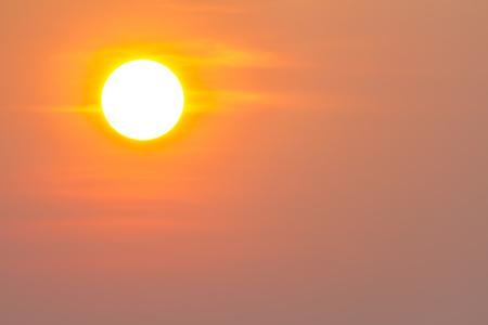 Global warming from the sun and burning, heat wave hot sun, climate change, Heat wave hot sun, makes heat stroke