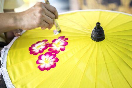 Umbrella, Bo Sang, Chiang Mai, thailand