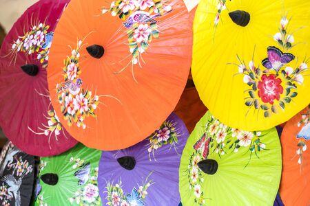 Chiang Mai, umbrella, Bo Sang, thailand
