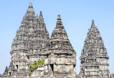 Sewu buddhist temple, Prambanan Temple ,Yogyakarta, Java, Indonesia Stock fotó