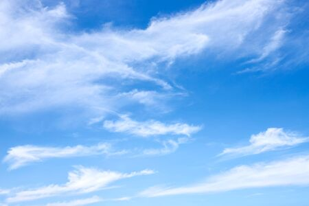 blue sky with cloud background and abstract texture Imagens