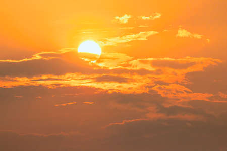Sun, Global warming from the sun and burning, heat wave hot sun, climate change Zdjęcie Seryjne