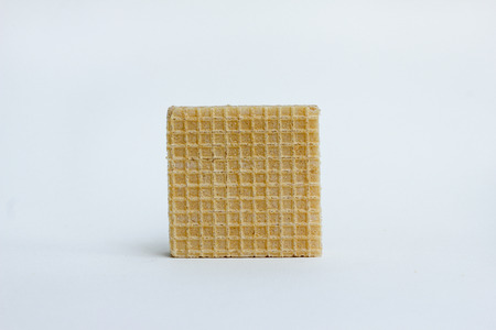 wafers: wafers , Wafers with chocolate isolated on white background.