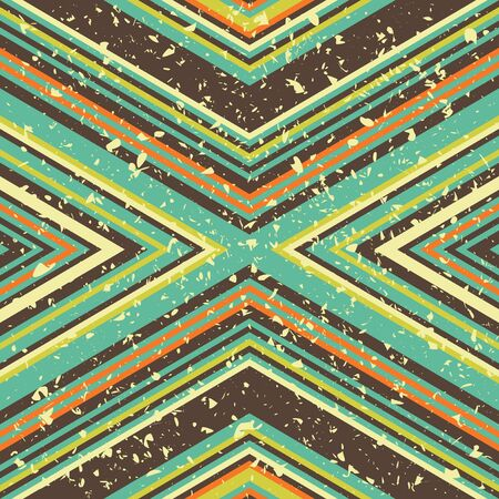 Seamless background texture with many stripes and grunge effect, vector pattern Illustration