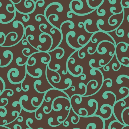 Seamless floral background pattern, vector illustration Фото со стока - 16297742