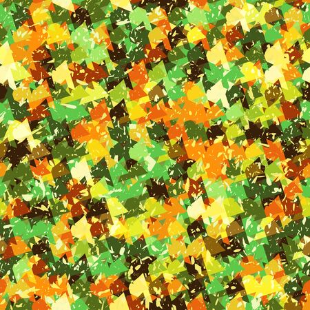 drawing on the fabric: Seamless abstract bright background texture