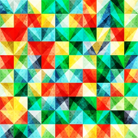 Abstract background with many bright transparent squares, vector illustration