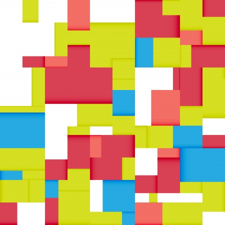 Seamless abstract geometric bright background, vector illustration