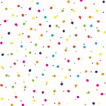 diminuto: Sin problemas de fondo con muchos peque�os trozos brillantes redondos, ilustraci�n vectorial